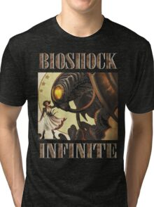 Bioshock infinite cool bird Tri-blend T-Shirt