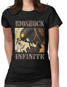 Bioshock infinite cool bird Womens Fitted T-Shirt