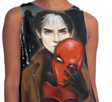 Underneath the Mask Contrast Tank