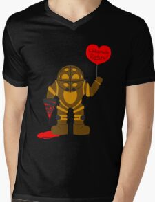 Bigdaddy welcome to rapture Bioshock Mens V-Neck T-Shirt
