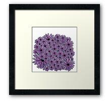 Flower Patch Framed Print