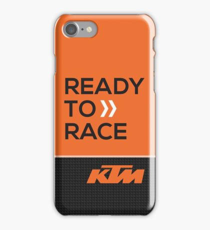 KTM ready to race case iPhone Case/Skin