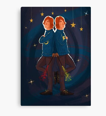 Gred and Forge Weasley Canvas Print