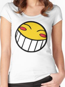 Cowboy Bebop Radical Ed Smiley Face Women's Fitted Scoop T-Shirt