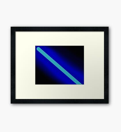 Lightsaber - rogue one - star wars Framed Print