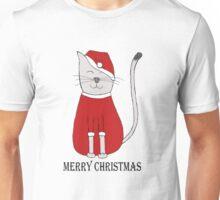 cute cat illustration christmas Unisex T-Shirt