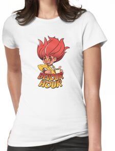 Devour Hour Womens Fitted T-Shirt