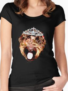 Cockapoo Princess (Black) Women's Fitted Scoop T-Shirt