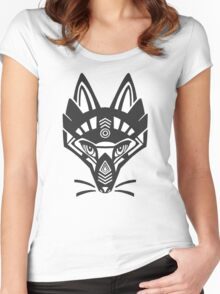 Fox shaman Women's Fitted Scoop T-Shirt