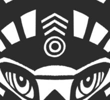 Fox shaman Sticker