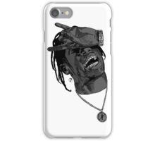 La Flame grey iPhone Case/Skin