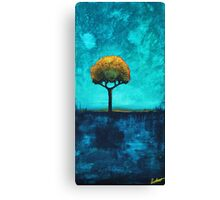 Twilight Tree Canvas Print