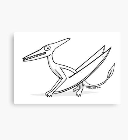 Cartoon Pterodactyl Canvas Print