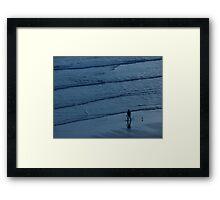 Precious at Sea  Framed Print