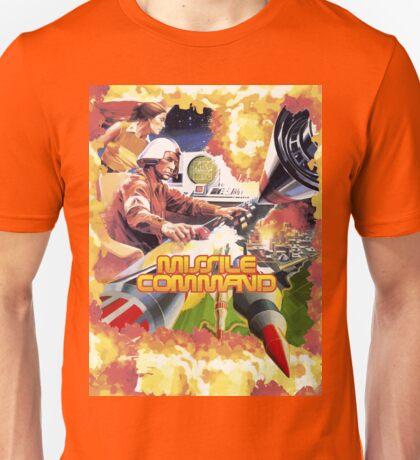 MISSILE COMMAND - ATARI 2600 LABEL CLASSIC Unisex T-Shirt