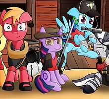 Pony Fortress 2 by 10art1
