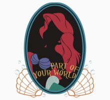 """Part of your World"" Sticker by Nados"