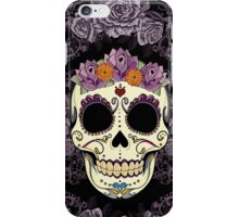 Vintage Skull and Roses iPhone Case/Skin