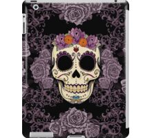 Vintage Skull and Roses iPad Case/Skin