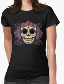 Vintage Skull and Roses T-Shirt
