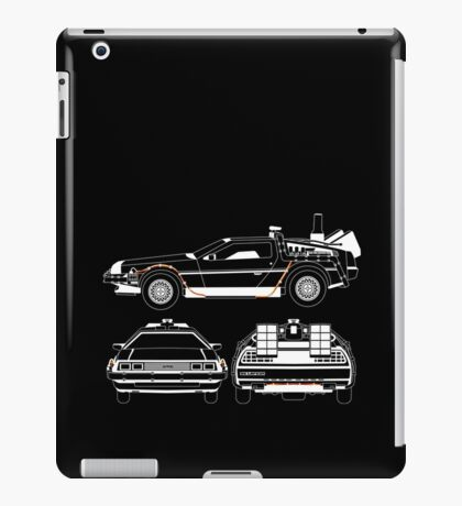 Delorean DMC Back to the Future iPad Case/Skin