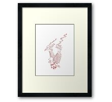 SIGNED IN BLOOD (Tattoo) Framed Print
