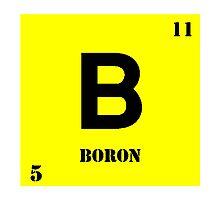 Boron Photographic Print