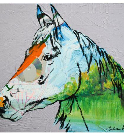 Horse Land  Sticker