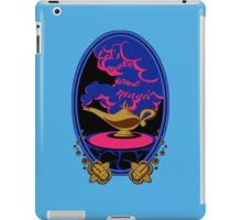 """Let's make some magic"" Sticker iPad Case/Skin"