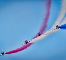 Red Arrows  by Darren Wilkes
