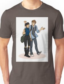 Bicurious and the Virgin Unisex T-Shirt