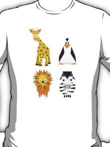 Geometric zoo T-Shirt