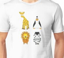Geometric zoo Unisex T-Shirt