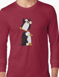 Penguin friends Long Sleeve T-Shirt