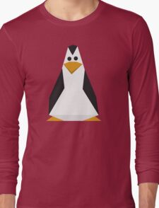 Geometric penguin Long Sleeve T-Shirt