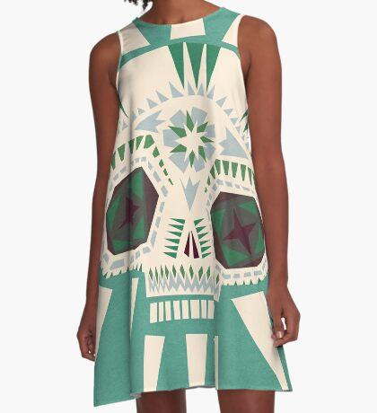 Sugar skull II A-Line Dress