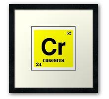 Chromium Framed Print
