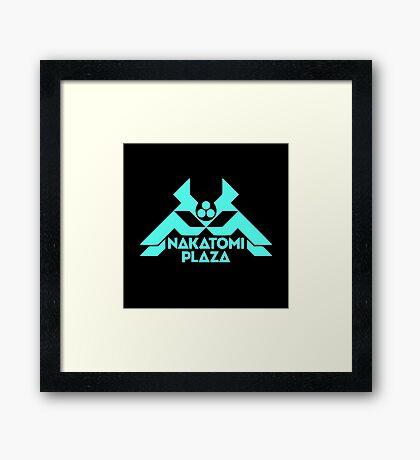 Nakatomi Plaza Framed Print