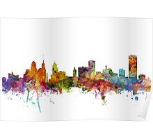 Buffalo New York Skyline Poster