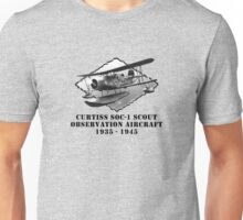 U.S. Navy-Curtiss SOC-1 Scout Observation Aircraft Unisex T-Shirt