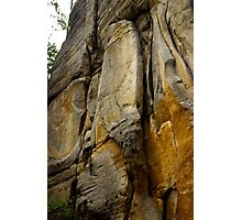 Face of Stone - Nature Photography Photographic Print