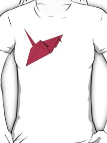 Ooh! A Crane! In Pink! T-Shirt