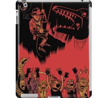 Why Did It Have To Be Snakes -black- iPad Case/Skin