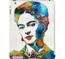 Frida Kahlo Art - Viva La Frida - By Sharon Cummings iPad Case/Skin