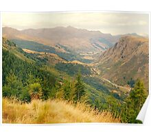 New Zealand landscape 10 Poster