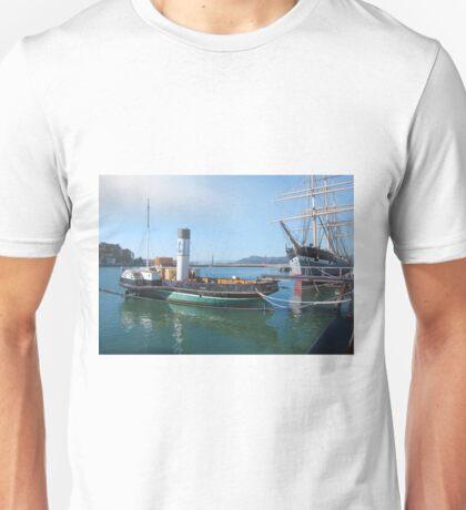 Aquatic Park Ships Unisex T-Shirt