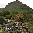 Eagle Crag and Greenup Gill, Cumbria, UK by GeorgeOne