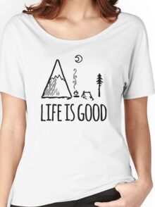 Camping Life Women's Relaxed Fit T-Shirt