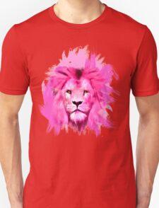 Pink Lion Unisex T-Shirt
