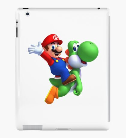 Mario & Yoshi iPad Case/Skin